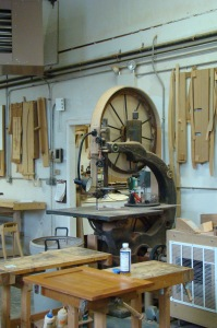 Workshop - Huge Bandsaw