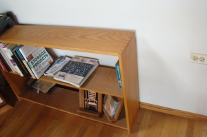 Simple Dovetailed Oak Bookcase