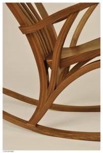 This is a detail of the rocking chair that Jeff was talking about